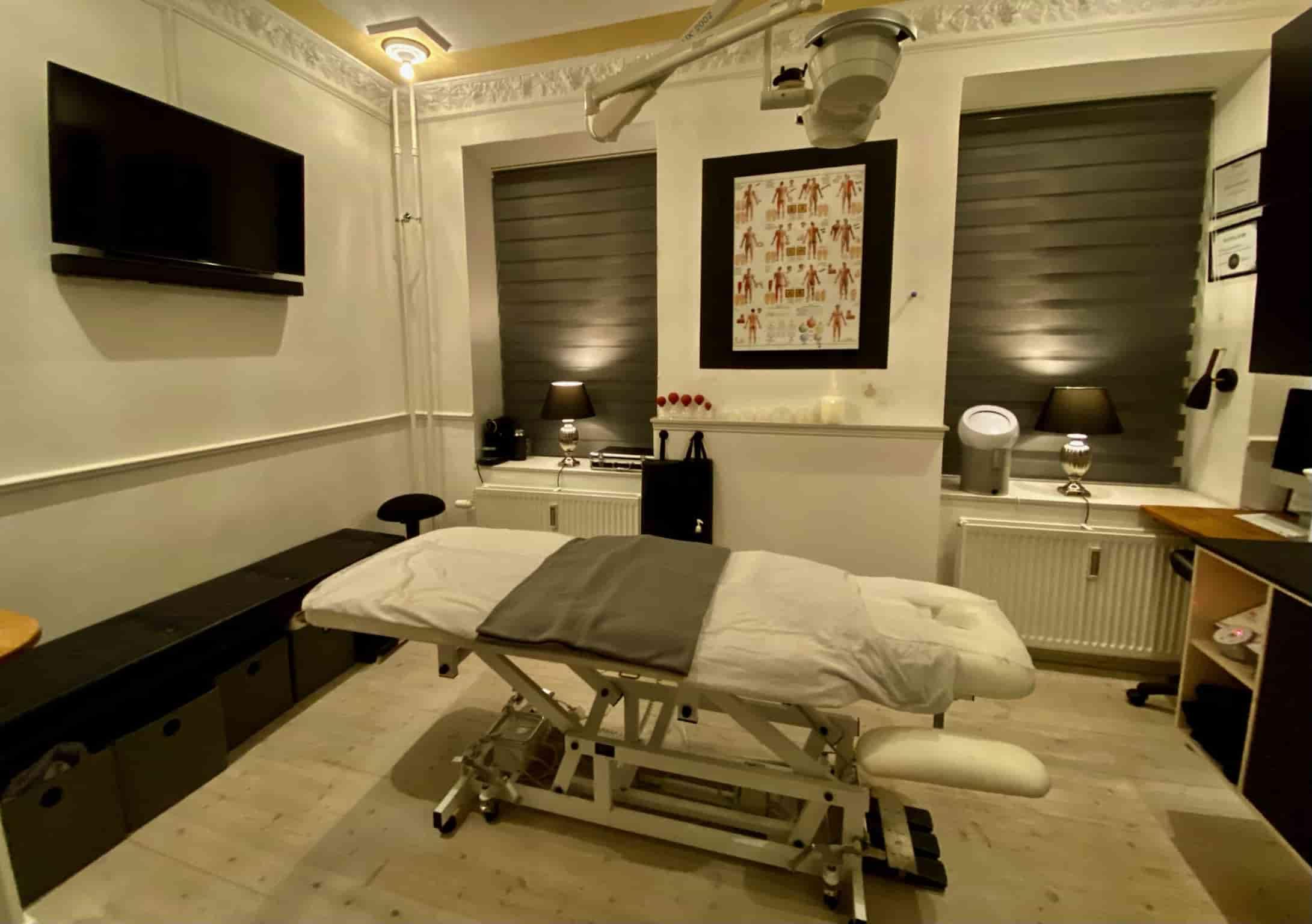 Massage klinik på Vesterbro