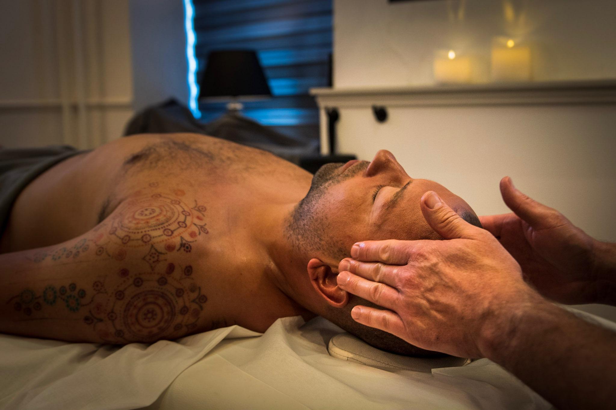 Løsning af spændinger med wellness massage