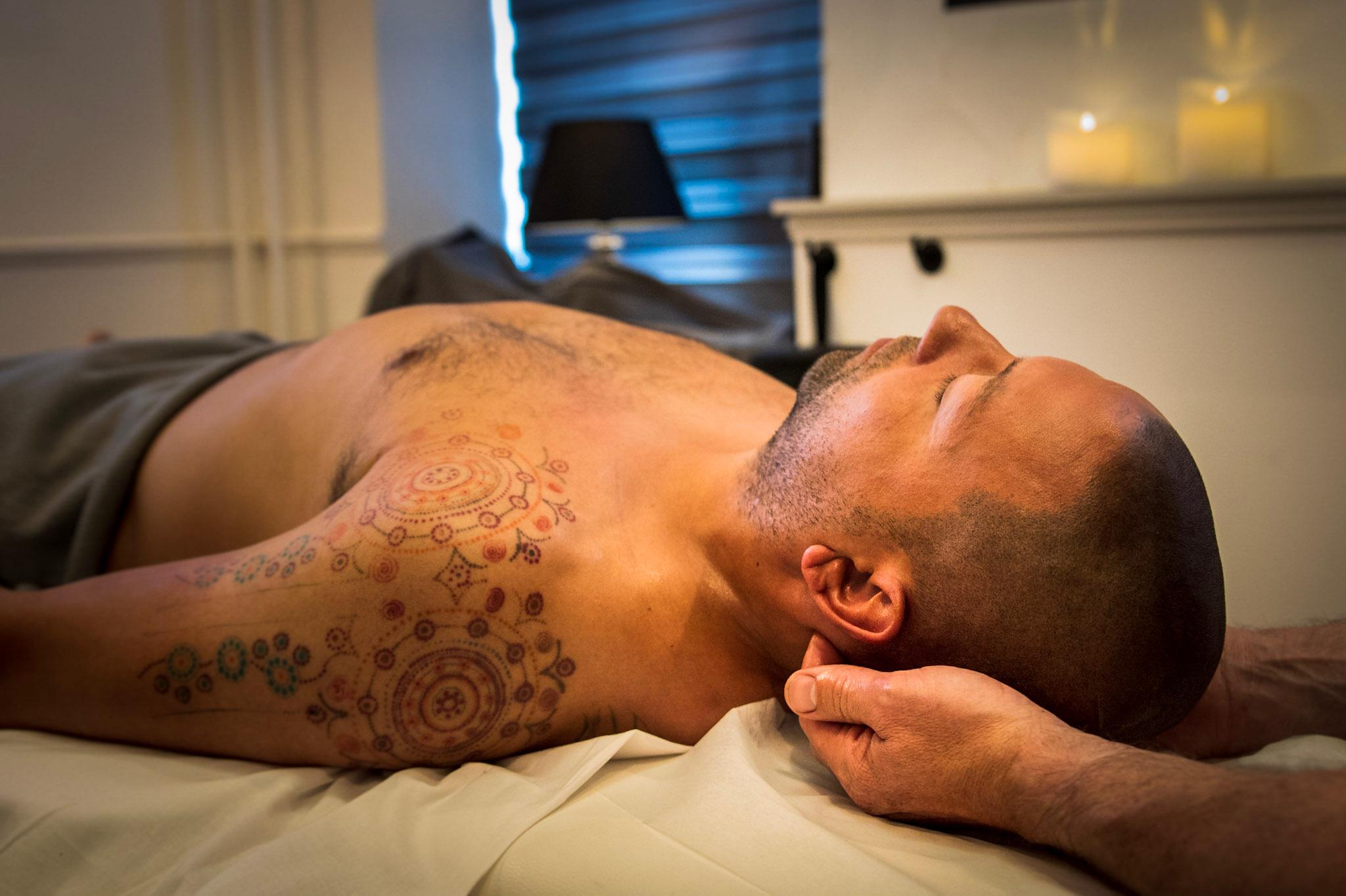 Massage af nakke