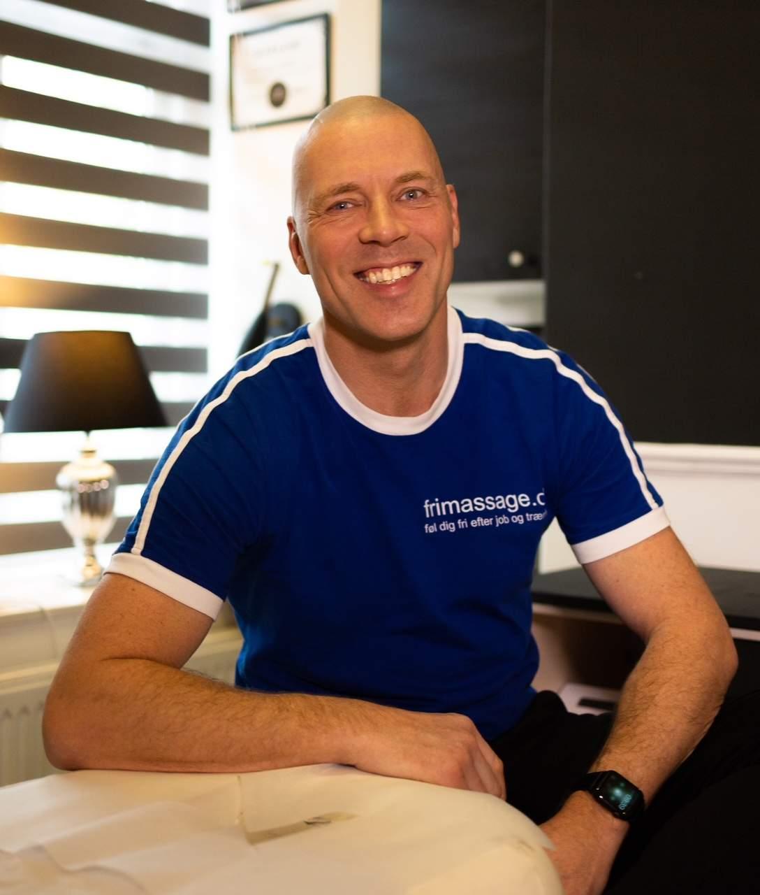Fysiurgisk massør Morten Nielsen